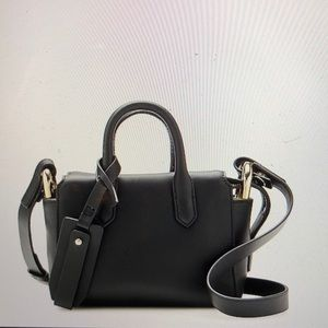 Harper mini Italian leather bag NWT